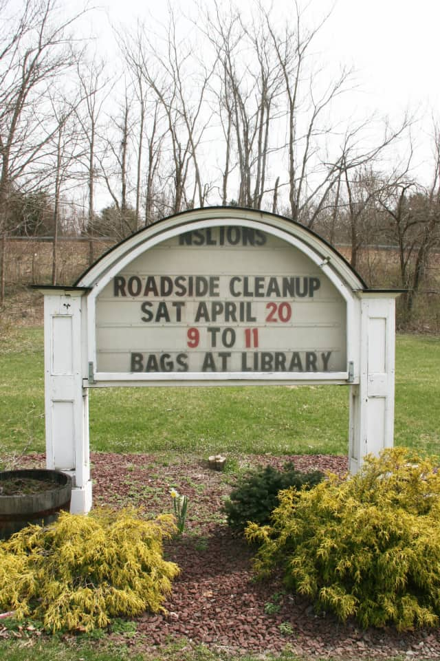 Help clean up North Salem on Saturday for Earth Day.