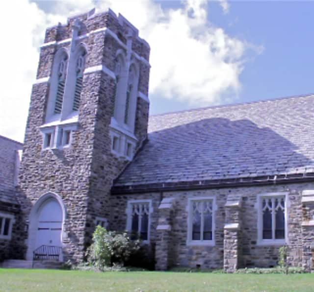 Huguenot Memorial Church is located at 901 Pelhamdale Ave., Pelham Manor.