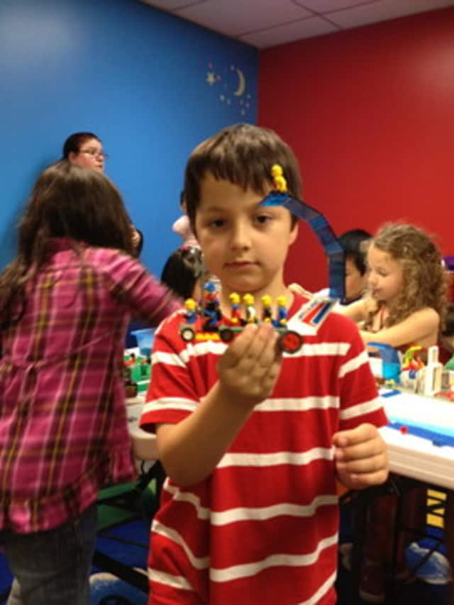 Children will have the opportunity to build LEGO masterpieces at the Bronxville Public Library
