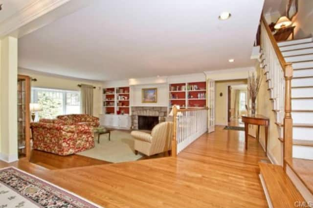See the rest of the home at 18 West Meadow Road in Wilton during an Open House Sunday from 1 to 3 p.m.