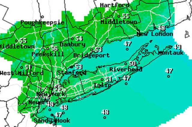 Temperatures should remain in the upper 50s and lower 60s this week.