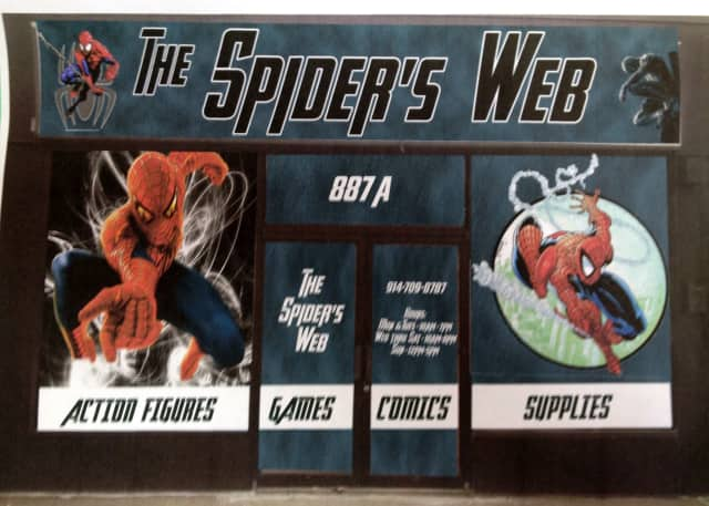 The Spider's Web, a new comic book shop, will celebrate its grand opening in Yonkers May 4.