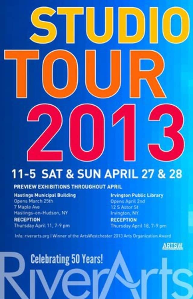 The RiverArts group will host its 20th Annual Studio Tour on April 27 and 28.