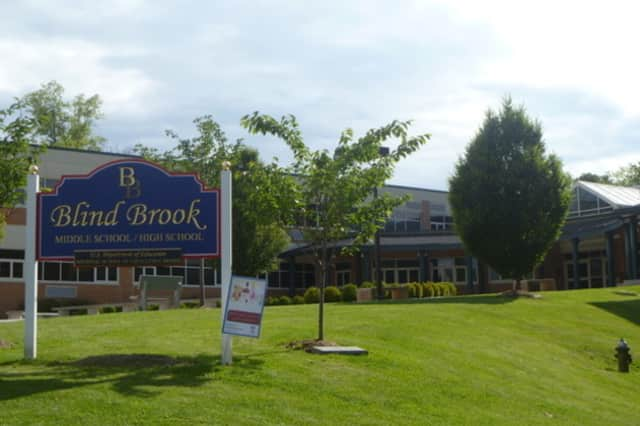 Blind Brook High School in Rye Brook was named the 16th best high school in the state by U.S. News and World Report.