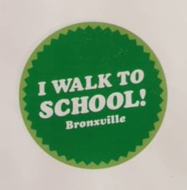 Bronxville children will be hitting the streets and walking to school this week.