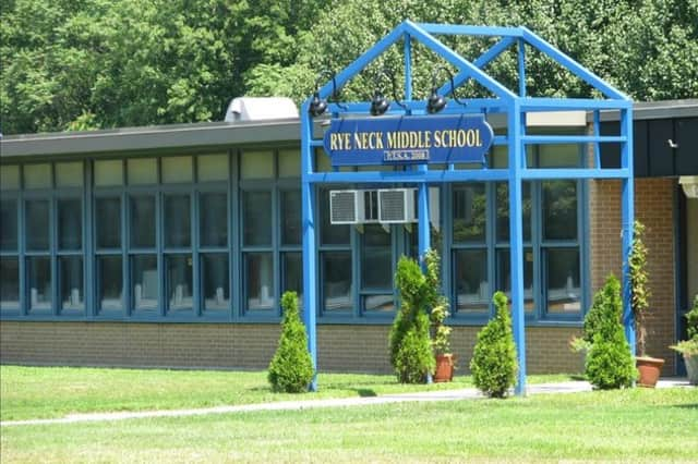 Rye Neck High School. Taxpayers defeated $35.5 million in capital construction projects throughout the district by 17 votes.