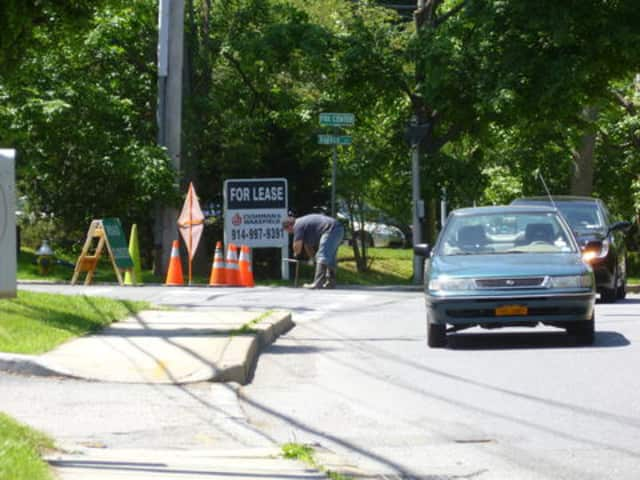 The area between Main Street and Boltis Street in Mount Kisco will be restricted, as paving curbing work is completed.