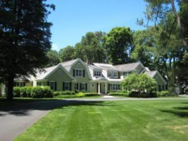 The home at 245 West Hills Road in New Canaan was sold last week.