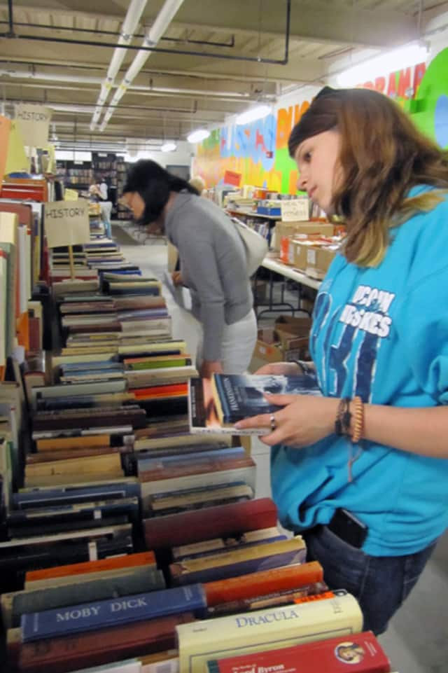Thousands of books will be on sale this weekend during the Wilton Library's annual Awesome Autumn Book Sale.