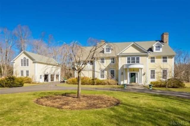 A four-bedroom home in Katonah is listed at $2.45 million.