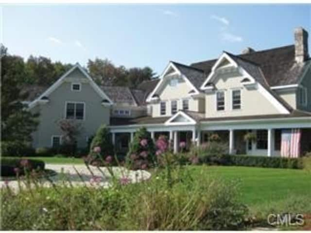 This Ridgefield house on Branchville Road will be open for tours on Sunday, April 28, from 1 to 3 p.m.