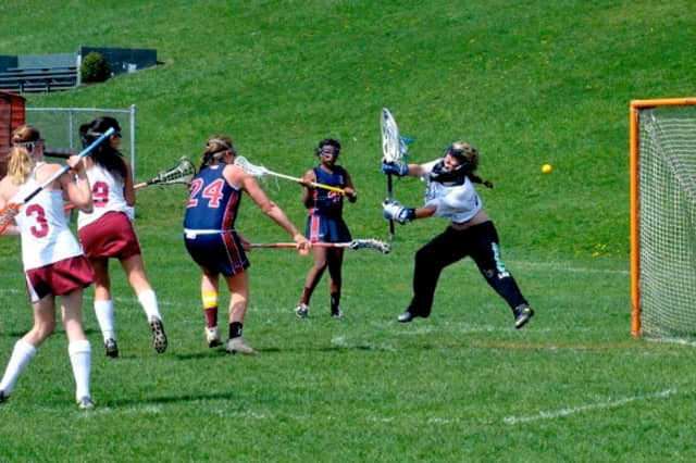 Harvey School's girls lacrosse team dropped a tough 19-12 decision to Watkinson on Saturday.