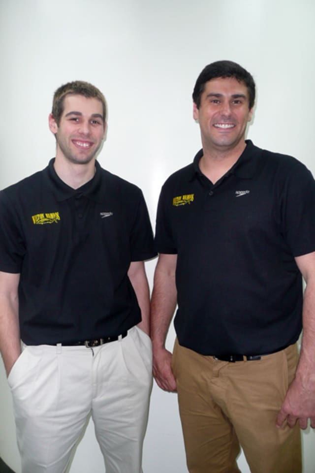 The Wilton Y Wahoo Swim Club recently welcomed Dave Modzelewski and Matt Hall to its coaching staff.