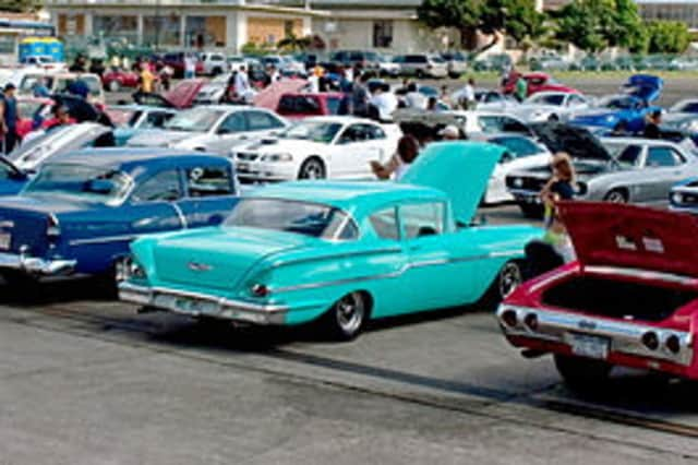 Drive and Dine is a classic car show to benefit the Wounded Warrior Project.