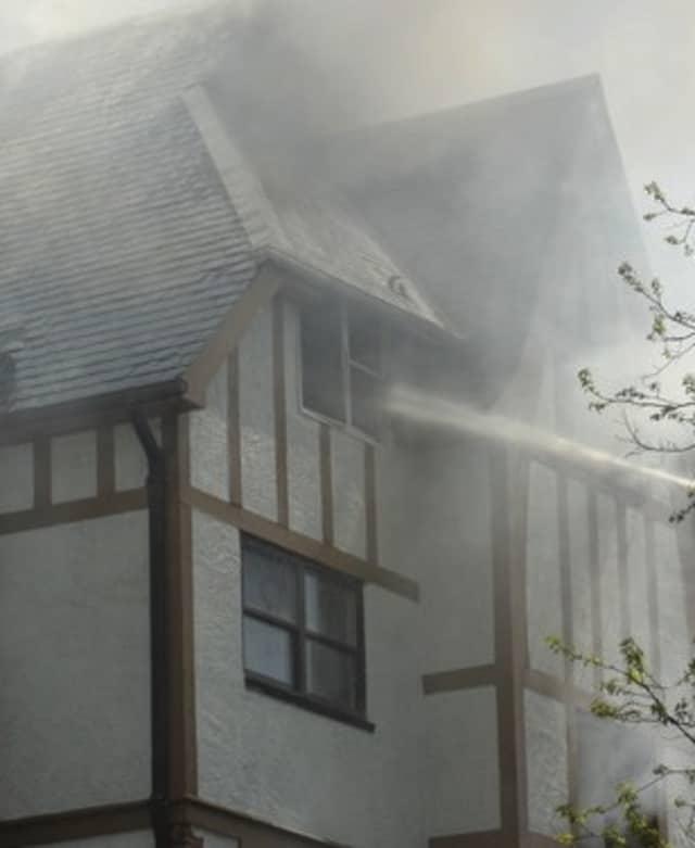 The fire has spread smoke both in Mount Vernon and surrounding neighborhoods.