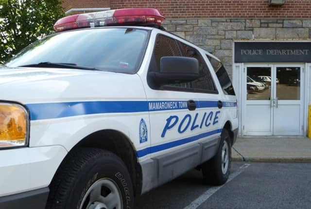 Town of Mamaroneck Police and Fire Departments responded to a report of a sanitation worker injured in Larchmont on Wednesday morning. He was conscious and alert, police said, and taken to a nearby hospital for treatment.