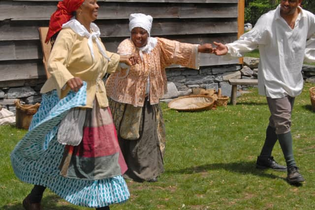 Music, dancing and storytelling are part of the springtime celebration of Pinkster at Philipsburg Manor on May 19.