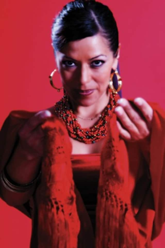 Singer-songwriter Lila Downs will be performing at the PepsiCo Theater at Purchase College Saturday night.