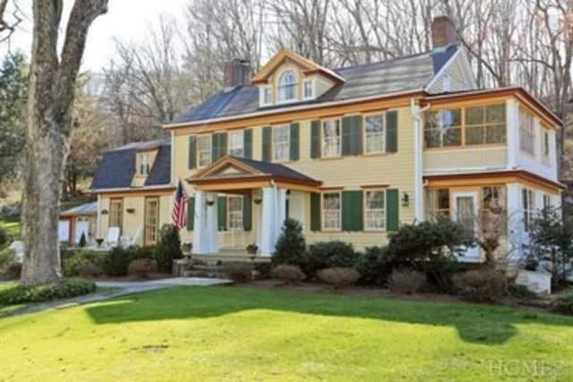 A four-bedroom home on Whitlockville Road is listed at $1,175,000.