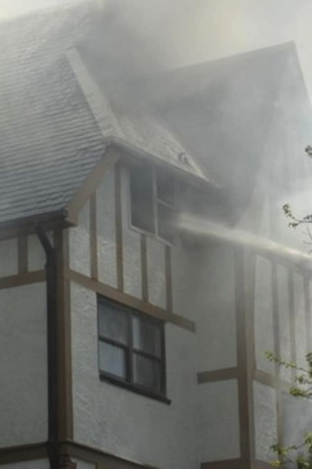 The fire led the news in Mount Vernon this week.