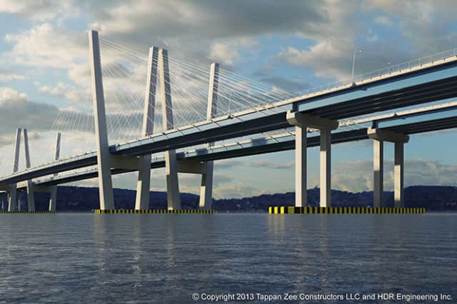 Work is expected to begin Monday on the Westchester trestle, which is part of the New NY Bridge project.