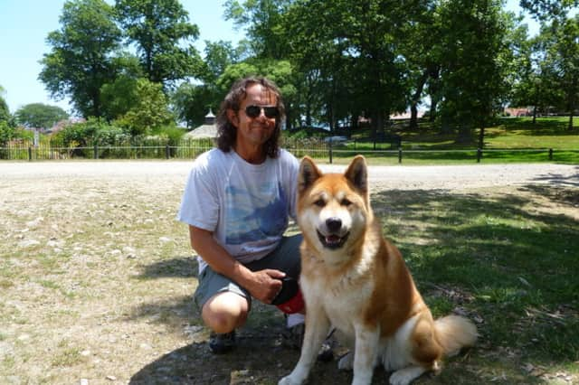Dog owners must keep their pets on leashes at all time while in public places like Rye Town Park.