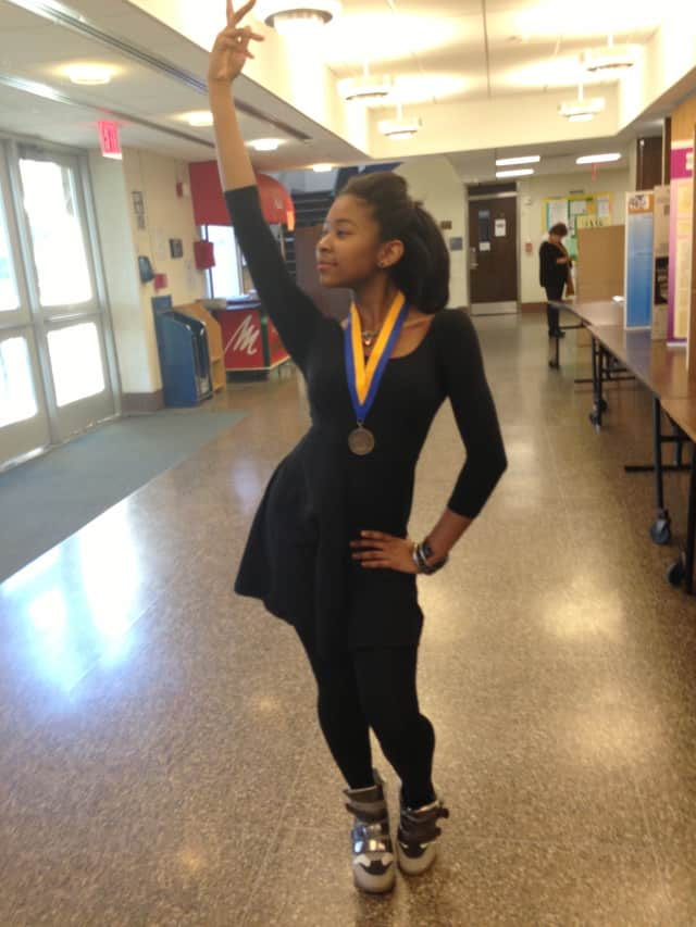 Mount Vernon freshman Naya Lovell earned a gold medal in classical dance.