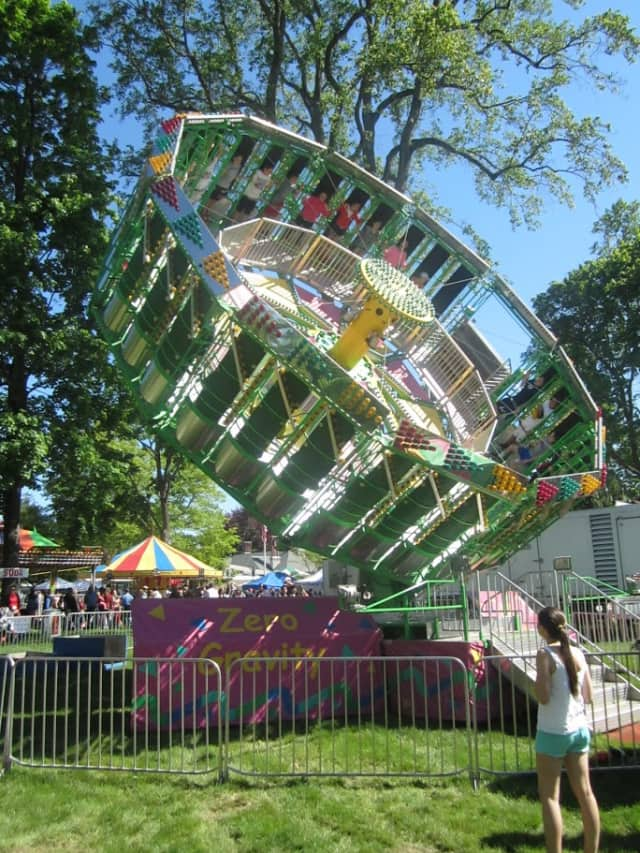 There is sure to be fun and games at the annual May Fair at St. Mark's Church in New Canaan this Saturday.