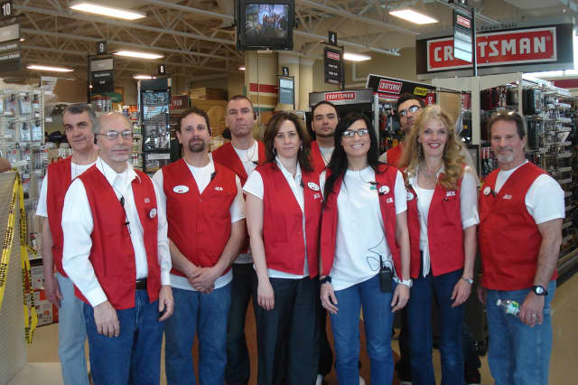 The team at Wallauer Design Center in White Plains will help customers celebrate its alliance with Ace hardware at a grand opening this weekend.