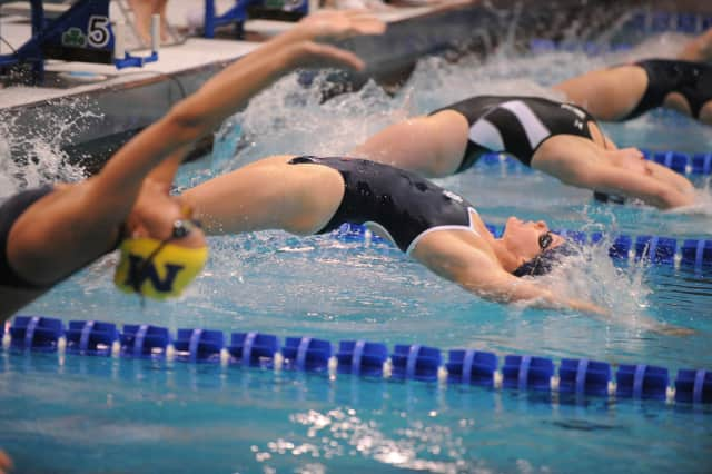 Kim Holden of Mount Kisco bounced back from surgery on each shoulder to close out a strong swim career at Notre Dame.