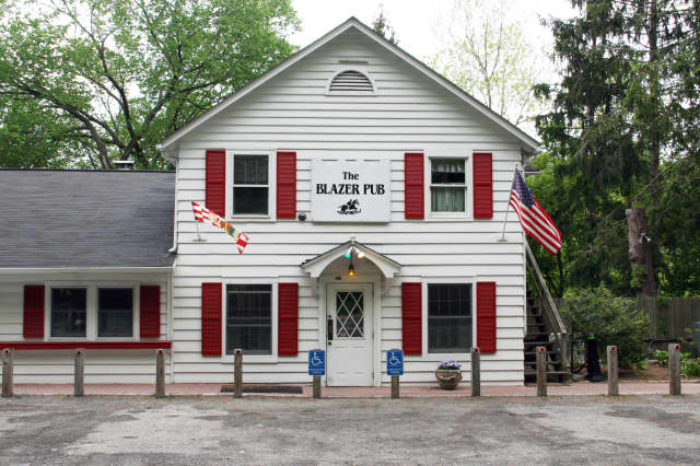 A local resident has been banned from Purdys' Blazer Pub.