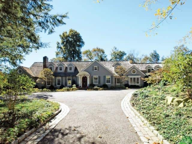 The home at 230 Rosebrook Road in New Canaan was recently sold.