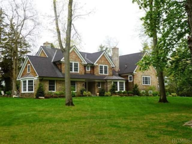 This home on Park Road in Scarsdale is hosting an open house this weekend.