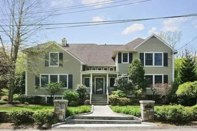 This home on Rye Road in Port Chester is one of several open houses this weekend. Open house is Sunday from 1 to 3 p.m.