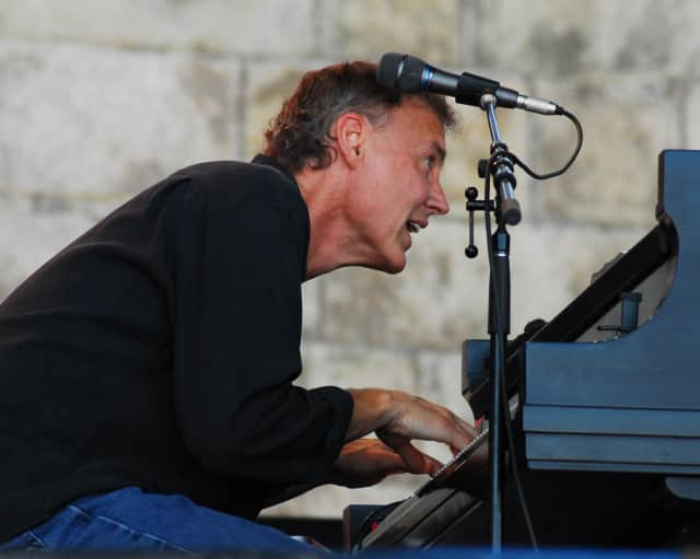Singer-Songwriter Bruce Hornsby has had to postpone his appearance on the Ridgefield Playhouse stage due to a vocal condition.