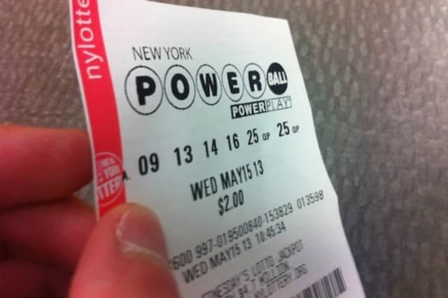 Powerball lotto tickets can be bought at many stores in Scarsdale.