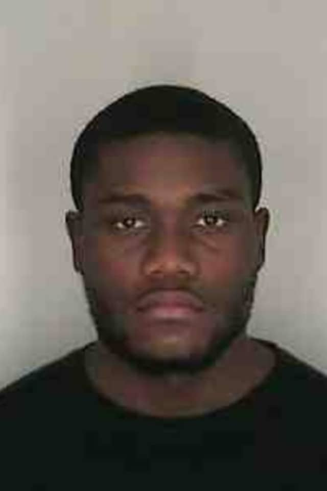 Olivier Famby of New Rochelle pleaded guilty to charges stemming from eight train station robberies, including one in Harrison.