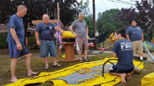 The Nichols Fire Department completed a water rescue training exercise on July 7.