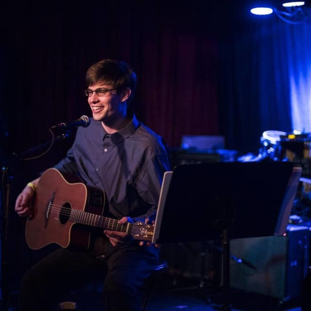Nick Depuy will perform at Baldanza Cafe in New Canaan.