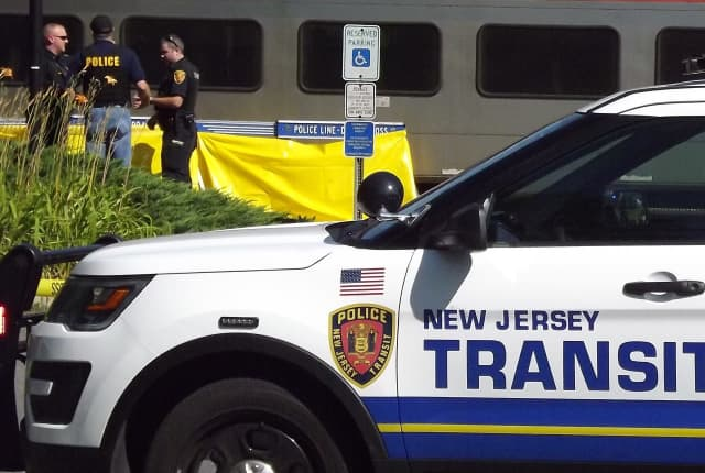 NJ Transit police were investigating.