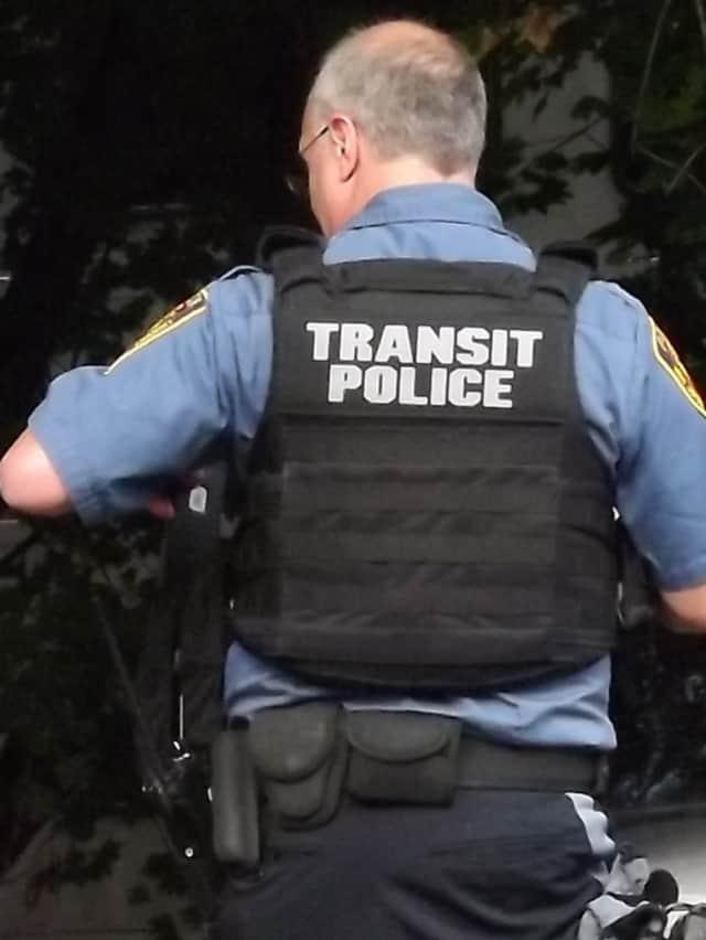NJ Transit police.