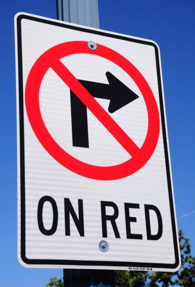 "Westport will remove ""No Turn on Red"" signs from two town intersections"