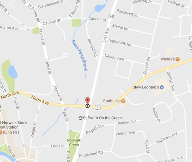 The state Department of Transportation will be performing night work at the intersection of Westport Avenue (Route 1) and East Avenue (Route 53).