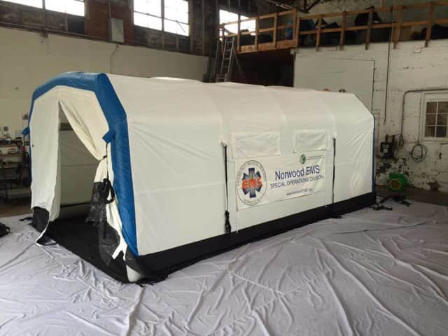 New Special Operations shelter of Norwood EMS.