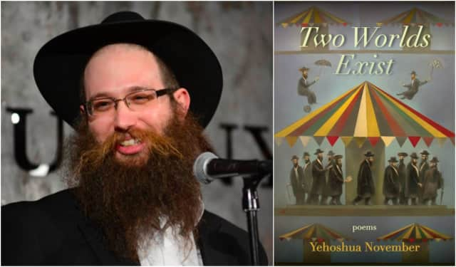 Yehoshua November will read from his new book on Dec. 11.