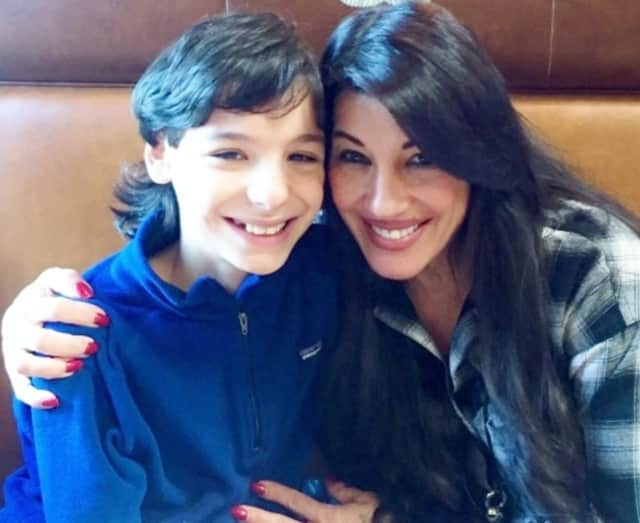 PJ Marcella and her son, Johnny.