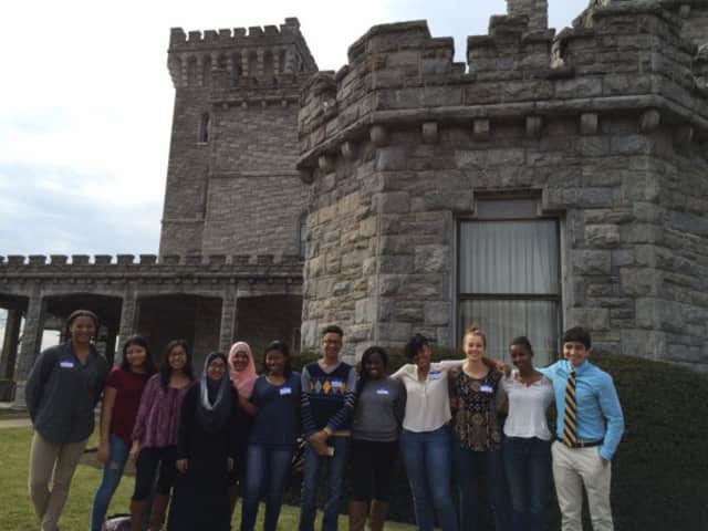 New Rochelle High School students recently attended the 15th annual Human Rights Institute for Student Leaders.