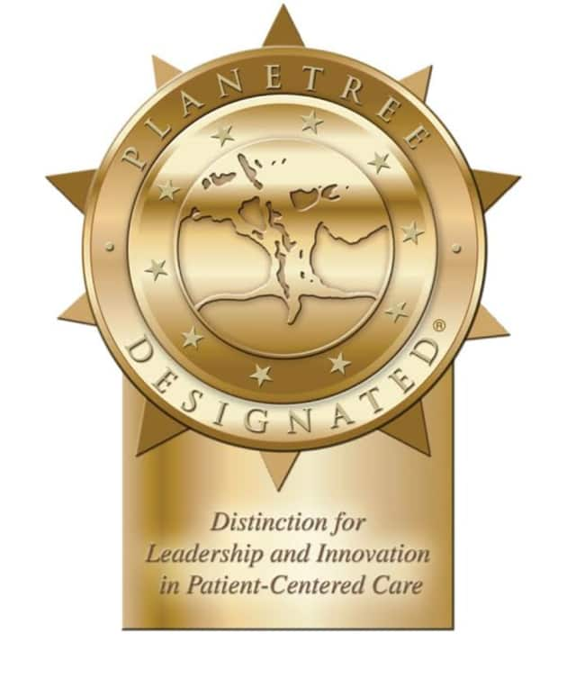 """Northern Westchester Hospital in Mount Kisco has been named a """"Planetree Designated® Patient-Centered Hospital with Distinction."""""""