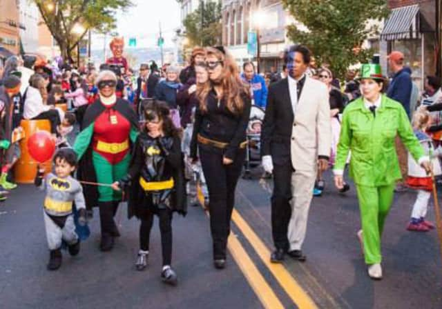 Nyack has one of the biggest Halloween parades outside of New York City.