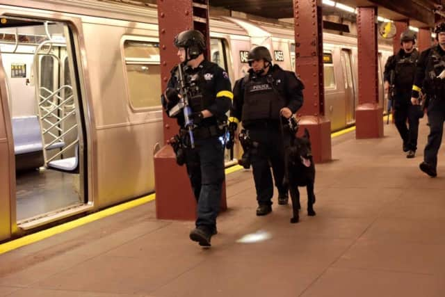 NYPD officers will be on heightened alert during the holidays, but there is no credible threat of an attack, said department officials.